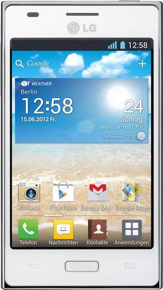 LG Optimus L5 E610 Bild 3