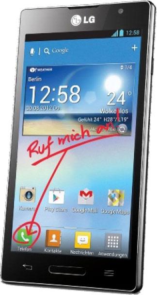 LG Optimus L9 P760 Bild 2