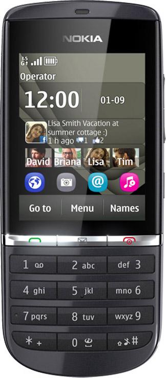 Nokia Asha 300 Bild 2