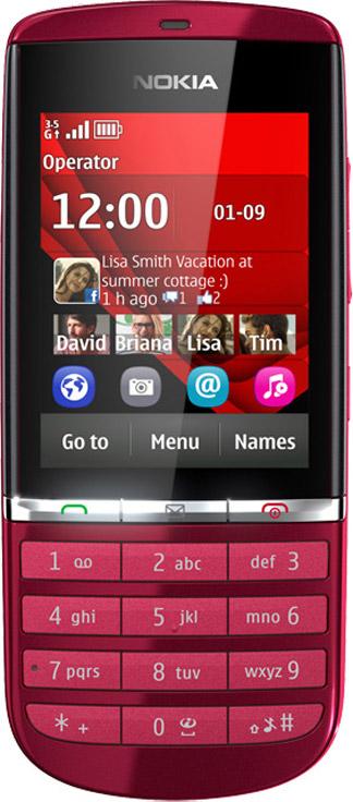 Nokia Asha 300 Bild 4
