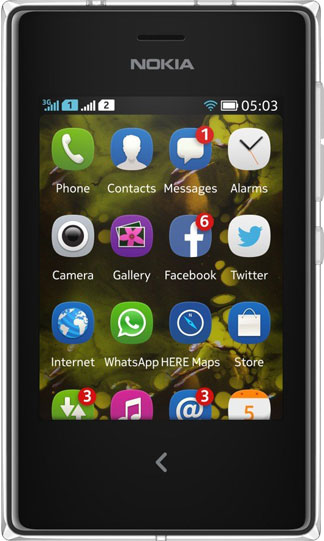 Nokia Asha 503 Bild 2