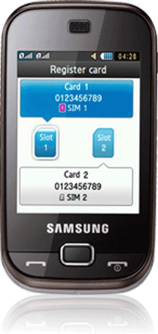 Samsung B5722 DuoS Bild 2