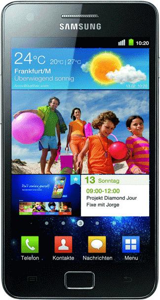 Samsung Galaxy SII I9100 Bild 2