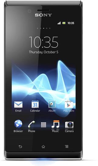 Sony Ericsson Xperia J Bild 2