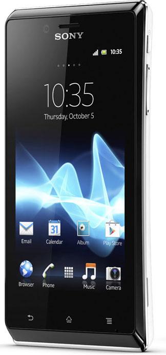 Sony Ericsson Xperia J Bild 3
