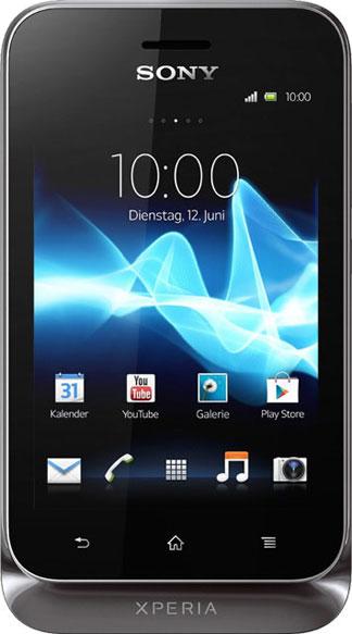 Sony Ericsson Xperia tipo Dual Bild 2