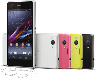 Sony Ericsson Xperia Z1 Compact Bild 5