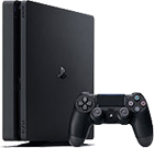 Bundle aus Handy und Sony PlayStation 4 Slim 1TB