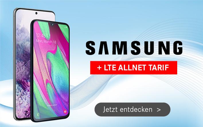 Samsung Handys mit Allnet Flatrate