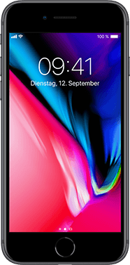 Apple iPhone 8 mit Allnet Flatrate