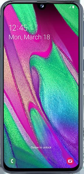 Samsung Galaxy A40 mit Allnet Flatrate