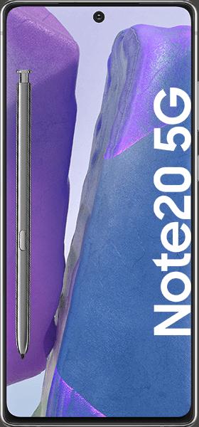 Samsung Galaxy Note20 5G mit Allnet Flatrate