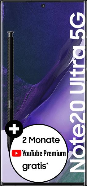 Samsung Galaxy Note20 Ultra 5G mit Allnet Flatrate