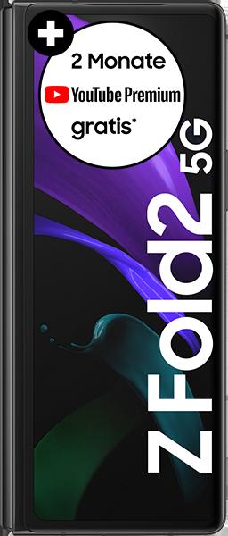 Samsung Galaxy Z Fold2 5G mit Allnet Flatrate