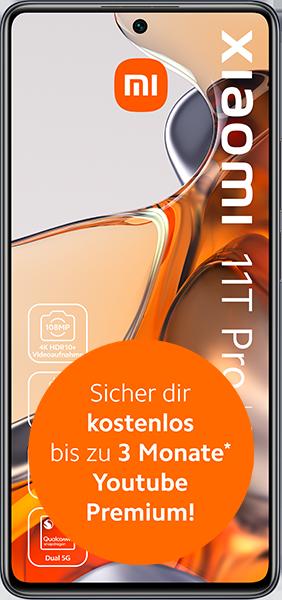 Xiaomi 11T Pro mit Allnet Flatrate