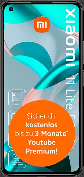 Xiaomi Mi 11 Lite 5G NE mit Allnet Flatrate