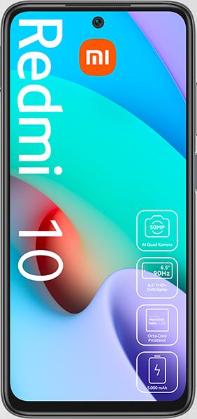 Xiaomi Redmi 10 mit Allnet Flatrate